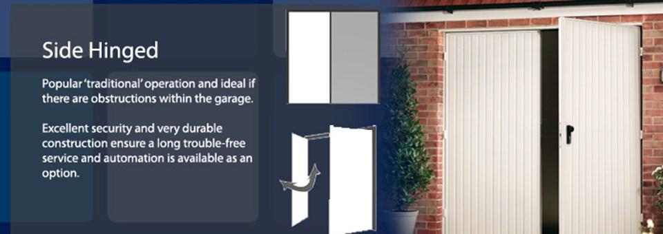Swing and Slide Hinged | PM Garage Doors, Wakefield